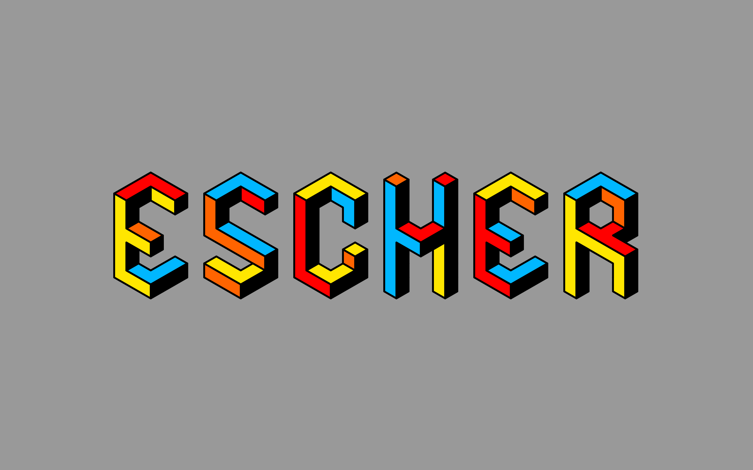 hexahedra-escher